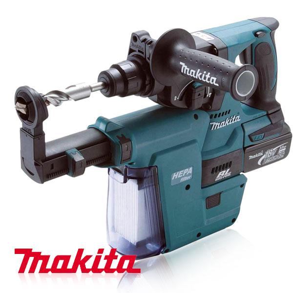 makita dhr243rfev charge hammer drill ebay. Black Bedroom Furniture Sets. Home Design Ideas