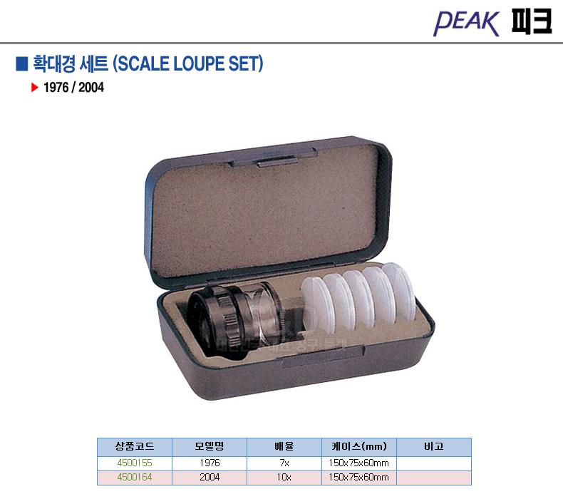 피크-4500164 확대경세트 2004 10x